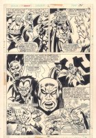 Champions #2 p.14 - Pluto and other Rulers of the Underworld Across Dimensions - 1976  Comic Art