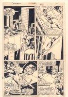 Daredevil #118 p.15 - Matt Murdock crashing in on the Circus of Crime - 1975 Comic Art