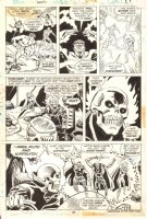 Champions #2 p.27 - Ghost Rider, Black Widow, Angel, & Others - 1976 Comic Art