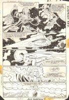 DC Comics Presents #86 p.22 - Superman, Supergirl, & Blackstarr - Crisis Cross-Over  Comic Art