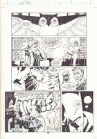 Batman: Family #4 p.10 - Gym Training and Batman - 2003 Comic Art