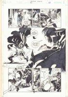 Batman: Family #8 p.25 - Huntress vs. Suicide King - 2003 Comic Art