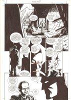 Batman: Family #6 p.13 - Cool Batman in the Shadows - 2003  Comic Art