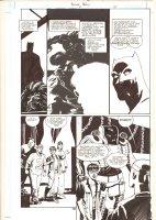 Batman: Family #6 p.16 - Batman and Suit of Armor - 2003  Comic Art