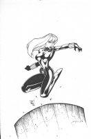 Black Widow Commission Comic Art