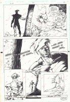 Justice League Task Force #37 p.22 - End Page - 1996 Comic Art