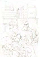 Deadpool #51 p.17 - Cool Daken Splash - 2012 Signed Comic Art