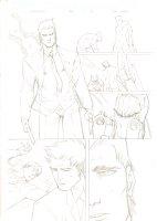Deadpool #54 p.15 - Wolverine, Fantomex, & a Healed Wade Wilson - 2012 Signed Comic Art