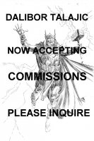 *Dalibor Talajic Accepting Commissions Comic Art