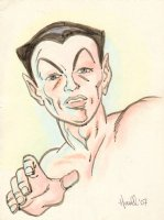 Namor, the Sub-Mariner Color Commission - 2007 Signed Comic Art