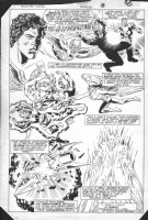 Hawkman Special - Great Splashy Flashback Montage - Hawkgirl Comic Art