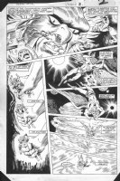 Hawkman Special  #1 p.2 - Awesome Storytelling Layout - 1985 Comic Art