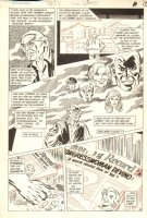 Hawkman #1 p.14 - Lots of Characters - 1986 Comic Art