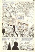 Hawkman #2 p.10 - Hawkman & Hawkwoman - Lots of Birds - 1986 Comic Art