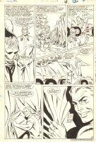 Hawkman #? p.4 - Hawkman & Hawkwoman - 1986 Comic Art