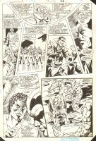 Hawkman Special #1 p.29 - Hawkman & Rock Aliens - 1986 Comic Art