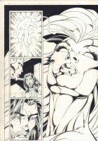 Foxfire #4 p.21 - Babe 1/2 Splash - 1996 Signed  Comic Art