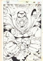Guardians of the Galaxy #52 p.30 - Drax the Destroyer End Page 100% Splash - 1994 Signed Comic Art