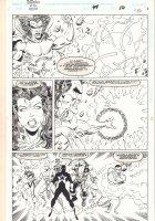 Guardians of the Galaxy #49 p.16 - Mephisto vs. Team - 1994 Comic Art