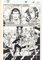 Guardians of the Galaxy #49 p.27 - Team Shot - 1994 Comic Art