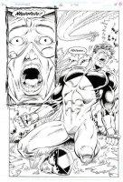 Comet, The #16 p.11 - Emotional Splash Page - 1992 Signed Comic Art