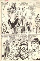Coyote #8 p.8 - 1/2 Splash - 1984 Comic Art