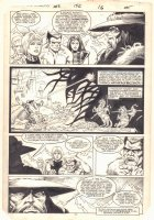 Defenders #152 p.12 - Valkyrie, Iceman, and Beast - 1986 Comic Art