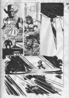 Bullet Points #5 p.15 - Hulk vs. Galactus - 2007 Signed Comic Art